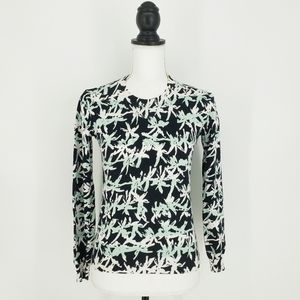 Kenzo Bamboo Abstract Print Pullover Sweater